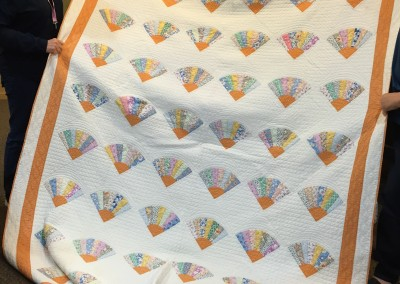 April 2015 - Antique quilts shared - purchased at Honeyville Quilt Auction