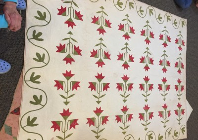 April 2015 - Antique quilts shared from collection of Joan Brink
